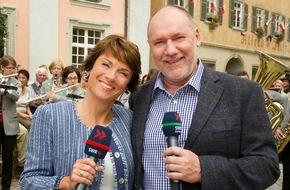"""SWR - Südwestrundfunk: """"Treffpunkt"""" feiert Geburtstag / Rückblick auf drei Jahrzehnte """"Treffpunkt"""" / Sonntag, 10. Januar 2016, SWR Fernsehen"""