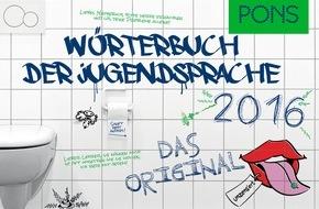 PONS GmbH: Güschabooh, scraven oder total matto: Jugendsprache direkt vom Erzeuger