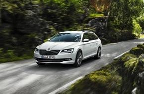 Skoda Auto Deutschland GmbH: Neuer SKODA Superb GreenLine ab sofort bestellbar