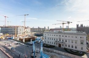 Bertelsmann SE & Co. KGaA: Bertelsmann begrüßt Belebung der historischen Mitte Berlins durch Humboldtforum