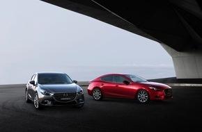 Mazda: Umfassende Aufwertung für den Bestseller Mazda3