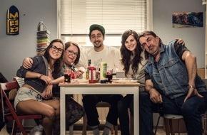 """ZDFneo: Drehstart für """"BLOCKBUSTAZ"""" mit Eko Fresh und Ferris MC / Der TVLab-Gewinner 2014 geht in Serie"""