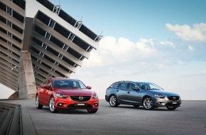 Mazda (Suisse) SA: Der neue Mazda6: Kombi und Limousine zum gleichen Preis