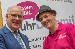Initiativkreis Ruhr GmbH: RuhrSummit 2016 markiert Aufbruch zu einer neuen Gründerkultur
