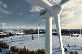 BKW Energie AG: Windkraftwerk JUVENT SA: Produktionsausbau, Baubeginn zweites Repowering