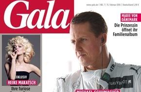 Gruner+Jahr, Gala: Exklusives GALA-Shooting: Heike Makatsch in ihren Lieblingsfilmen / Sexy und cool - Heike Makatsch als Olivia Newton-John