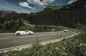 Lech Zürs Tourismus GmbH: Arlberg Classic Car Rally Lech: Prolog und Tiroler Schleife - VIDEO/BILD