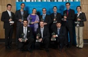 Stiftung Pfizer Forschungspreis: Junge Schweizer Spitzenforscher ausgezeichnet / Zum 23. Mal zeichnet die Stiftung Pfizer Forschungspreis junge Wissenschaftler aus