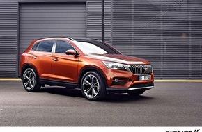 AUTO BILD: AUTO BILD exklusiv: Borgward präsentiert zweiten SUV