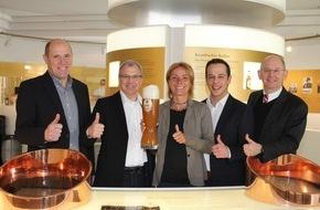 Krombacher Brauerei GmbH & Co.: Krombacher Alkoholfrei ist offizieller Bier- und Sponsorpartner des Frankfurt Marathons
