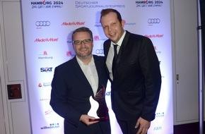 """Sky Deutschland: Die Sky Bundesliga-Konferenz als """"Beste Sportsendung"""" beim Deutschen Sportjournalistenpreis ausgezeichnet / Burkhard Weber: """"Konferenz auch nach 15 Jahren noch so packend wie am ersten Tag"""""""