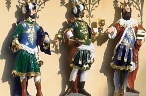 Grand Hotel Les Trois Rois: Das Grand Hotel Les Trois Rois feiert seine Namensgeber