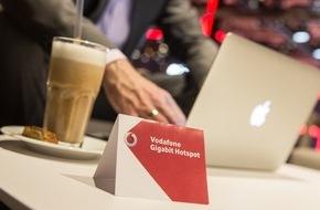 Vodafone GmbH: Deutschlands schnellstes WLAN: Berlin bekommt Gigabit-Hotspots