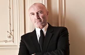 """SWR - Südwestrundfunk: Phil Collins im SWR3 Exklusivinterview: Wieder glücklich mit Ex-Ehefrau Orianne Cevey zusammen / """"Genesis"""" feiert am Samstag mit Phil Collins seinen 65. Geburtstag"""
