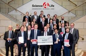 Science4Life e.V.: High-Tech Innovationen mit enormem Potenzial für Mensch und Markt: Science4Life Venture Cup Gewinner 2016 ausgezeichnet