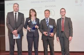 Skoda Auto Deutschland GmbH: Platz eins für SKODA in Zufriedenheitsstudie 'SchwackeMarkenMonitor 2015' (FOTO)