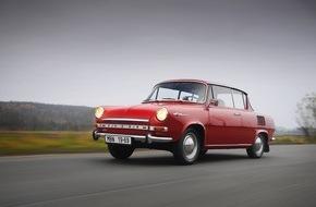 Skoda Auto Deutschland GmbH: Kultauto SKODA 1000 MBX feiert seinen 50sten