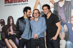 Constantin Film: Kino ist die beste Therapie / IRRE SIND MÄNNLICH feierte große Premiere in München / Ab 24. April im Kino