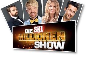SKL - Millionenspiel: Mission Millionenglück: Bei der SKL-Millionen-Show gehen die Stars bis ans Limit