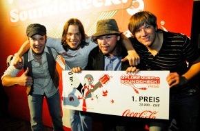 Coca-Cola Schweiz GmbH: Ruhm, Ehre und ein Platz in der Rock'n'Roll History / MyCokemusic Soundcheck 2012: Der grösste Newcomer-Band-Wettbewerb der Schweiz geht in die nächste Runde