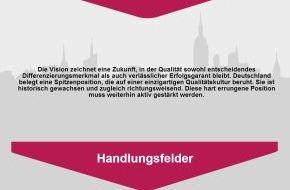Deutsche Gesellschaft für Qualität: Ist Deutschland überhaupt noch innovativ? - Die DGQ begegnet Debatte mit erstem Leitbild für Qualität