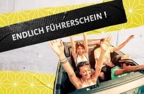 """Jugend ohne Führerschein? / Alle Farben, Felix Jaehn, KC Rebell und Ed Sheeran zum Thema Fahrerlaubnis / """"DASDING Spezial: Führerschein"""", 24. März 2017, von 6 bis 21 Uhr im Radio und im Web"""