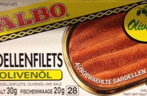 Migros-Genossenschafts-Bund: Migros ruft Sardellen der Marke Albo zurück