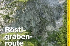 Wandermagazin SCHWEIZ: Wandermagazin SCHWEIZ im Juni_2012: Die Röstigrabenroute