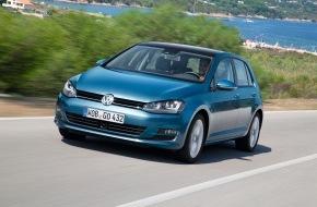 VW / AMAG Automobil- und Motoren AG: Schweizer Premiere des neuen VW Golf an der Auto Zürich