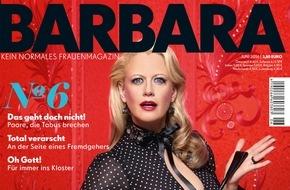 """Gruner+Jahr, BARBARA: Katja Riemann: """"Als junger Teenager war ich immer so vor mich hinverknallt."""""""