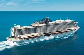 MSC Kreuzfahrten: MSC Croisières commande 4 nouveaux navires, entièrement alimentés au gaz naturel liquéfié (LNG)
