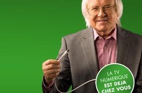 Pro Senectute: Passage à la télévision numérique: campagne d'information de Pro Senectute Suisse et Swisscable
