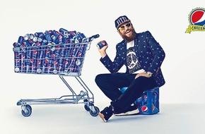 """PepsiCo Deutschland GmbH: """"Zeit, aufzudrehen!"""" - MC Fitti und Pepsi rufen zur Dosendesign Challenge auf"""
