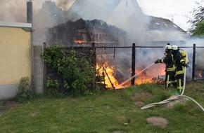 Freiwillige Feuerwehr Menden: FW Menden: Arbeitsreicher Tag für die Feuerwehr Menden