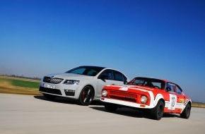 Skoda Auto Deutschland GmbH: SKODA RS: 40 Jahre Geschwindigkeitskult