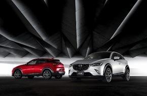 Mazda (Suisse) SA: Mazda CX-3: Der neue, vielseitige Kompakt-SUV