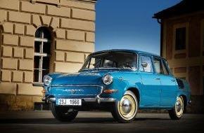 Skoda Auto Deutschland GmbH: Eine Legende feiert Geburtstag: SKODA 1000 MB wird 50 Jahre alt