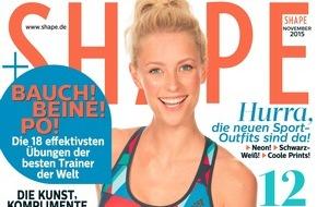 Bauer Media Group, Shape: Jung bleiben mit SHAPE: Die besten Tipps und Tricks in der aktuellen Ausgabe