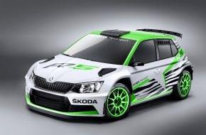 Skoda Auto Deutschland GmbH: Weltpremiere auf der Essen Motor Show: SKODA zeigt Fabia R 5 Concept Car