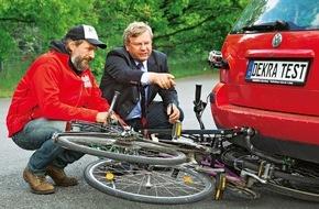 AUTO BILD: AUTO BILD-Test: Zwei von acht Fahrradträgern mit starken Sicherheitsmängeln