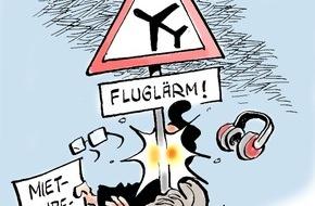 Bundesgeschäftsstelle Landesbausparkassen (LBS): Streit um Fluglärm / Keine Mietminderung, wenn der Flughafenausbau bekannt war