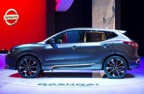 Nissan Switzerland: Selbstfahrender Nissan Qashqai rollt 2017 nach Europa