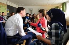"""NDR Norddeutscher Rundfunk: """"NDR Summer School"""" für junge Erwachsene mit Migrationshintergrund in Hannover gestartet"""