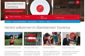 Oberösterreich Tourismus: Webseite bündelt Wissen und Service für Oberösterreichs Tourismusbranche