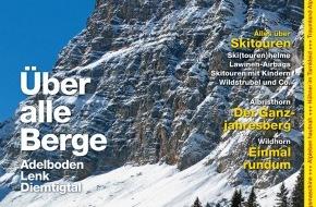 Wandermagazin SCHWEIZ: Wandermagazin SCHWEIZ: Über alle Berge / Wanderparadies Adelboden-Lenk-Diemtigtal