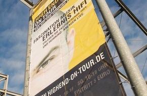HIGH END SOCIETY SERVICE GmbH: Die regionale Messe für qualitätsbewusste Musikliebhaber und ein Treffpunkt für Freunde feinster Unterhaltungselektronik / Musikgenuss pur in der Ruhrmetropole Dortmund