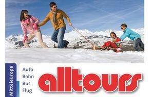 alltours flugreisen gmbh: alltours baut Programm für Wintersportler, Familien, Sparfüchse und Wellnessurlauber weiter aus / Mehr zielgruppenspezifische Angebote für Gäste mit Individualanreise