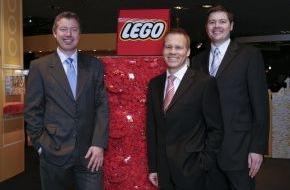 LEGO GmbH: LEGO GmbH 2007 erneut Marktführer / Mit klassischen Produktlinien und Spielthemen weiter auf Wachstumskurs