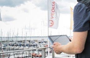 Vodafone GmbH: Europapremiere: Publikum der Kieler Woche segelt per LTE live bei Regatta mit (FOTO)