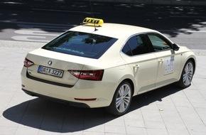 Skoda Auto Deutschland GmbH: Doppelsieg bei Europas größtem Taxi-Test: Neuer SKODA Superb ist 'Taxi des Jahres'